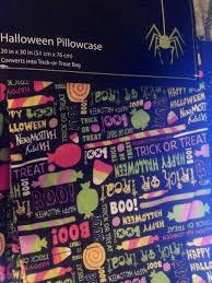 amazon com halloween candy pattern pillowcase converts to trick
