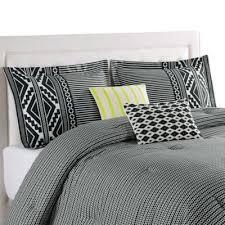 Cream And Black Comforter Buy Black Cream Bedding Set From Bed Bath U0026 Beyond