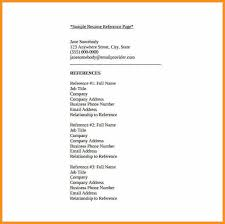 Free Reference Template For Resume Resume Reference Template Incredible References For A Resume