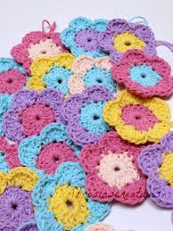 Crocheted Flowers - 256 best crochet flowers leaves fruits and nuts images on