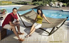furniture amazing free standing hammock with pool deck and
