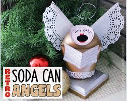 Christmas Decoration Crafts Soda Can Singing Angels Hometalk