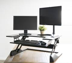 Sit To Stand Desk by Desk V000a Discontinued Vivo Height Adjustable Standing Desk