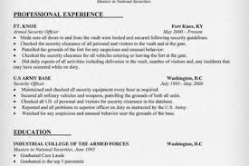 Military Resume Examples For Civilian by Resume Sample For Military To Civilian Career Transition Military