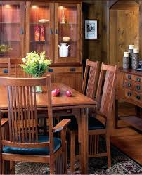Cherry Wood Dining Room Set by Lancaster Collection