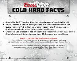 coors light cold hard facts 47 best alcohol images on pinterest liquor alcohol and addiction