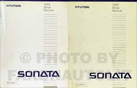 1992 1993 hyundai sonata electrical troubleshooting manual original