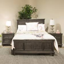 Calistoga Youth Wood Panel Bed In Weathered Charcoal Humble Abode - Magnussen nova bedroom set