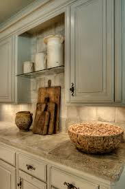 17th century french stone counters grey cabinet kitchen