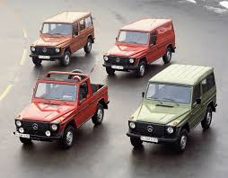 mercedes jeep truck 30 years of the gwagen mercedes benz land rovers and 4x4