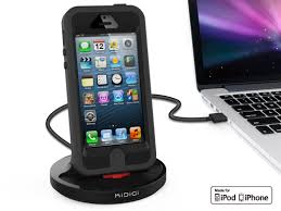 rugged case compatible sync u0026 charge dock for iphone 5 iphone 5s