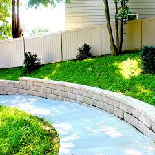 Backyard Wall Welcome To Connecticut Fence U0026 Landscaping