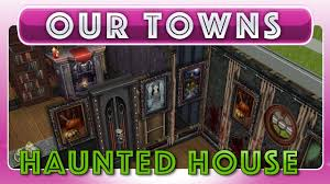 sims freeplay haunted house original house design youtube