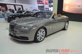 roll royce india royce dawn india launch on 24th june