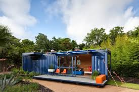 gallery of container guest house poteet architects 3