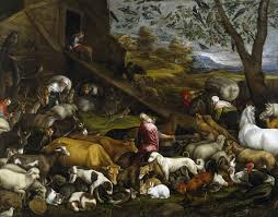 the entry of the animals into noah u0027s ark 1570 jacopo bassano