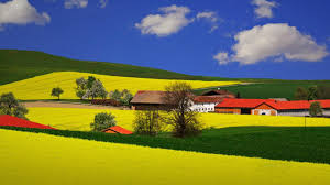 Beautiful Landscapes Wallpaper Country Houses Beautiful Landscape 1366 X 768