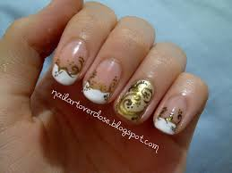 Nail Art Designs July 4 Tattoos Designs Collection Gallery Gold Nail Art Designs