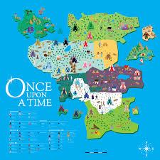 Narnia Map Once Upon A Time U2014 Matt J Peraza Designs