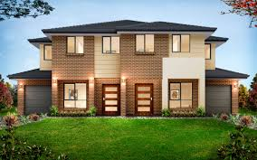 Duplex Building by Kurmond Homes 1300 764 761 New Home Builders Duplex Storey Home