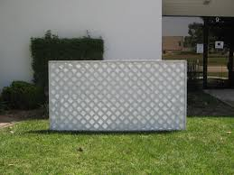 decor diamond lowes lattice panels in white for pretty garden