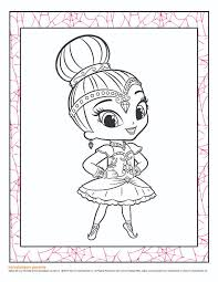 14 shimmer shine coloring pages coloring pages