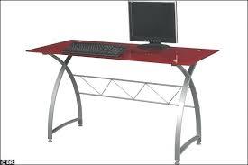 plateau verre tremp bureau bureau en verre bureau avec plateau en verre tremp 15 mod les