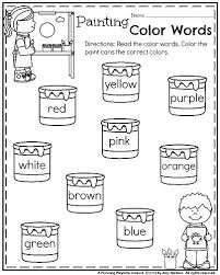 25 worksheets ideas kindergarten english