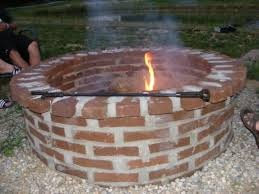 How To Make A Fire Pit With Bricks - exquisite decoration bricks for fire pit astonishing stone soup