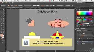 tutorial illustrator italiano adobe illustrator cs6 tutorial the pathfinder panel