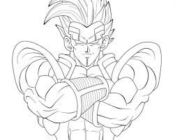 dragon ball z coloring pages for kids printable free best of ball