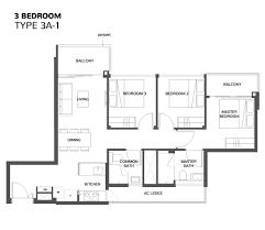 Singapore Floor Plan The Wisteria Wisteria At Yishun Avenue 4 Condo Mixed Development