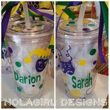mardi gras cups mardi gras cup nola parade drink tumblers vinyl decorated
