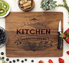 personalized engraved cutting board personalized engraved cutting boards st out
