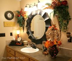 so do you decorate your bathrooms for fall do you just add a few
