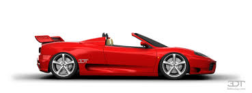 360 modena spider f1 3dtuning of 360 modena spider convertible 1999 3dtuning