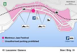 map of montreux montreux jazz festival 02 17 july 2010 practical transport