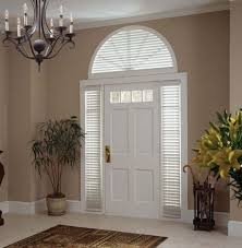 Curtains For Front Doors Front Door Window Treatments