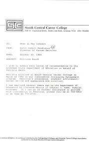 best ideas of examples of letters recommendation for college