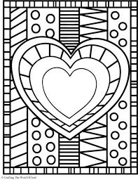 296 coloring book love hearts valentine u0027s