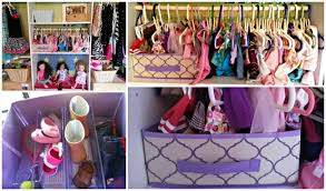 18 inch doll storage cabinet making a doll clothes closet with dollar store items perfect for
