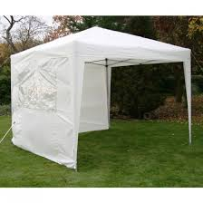 white gazebo airwave皰 3x3m waterproof pop up gazebo white plus 2 windbars皰 and
