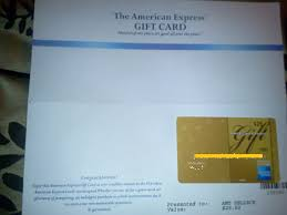 got my free 25 american express gift card today did you