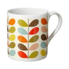 Orla Kiely Multi Stem Duvet Cover Orla Kiely Mug Ten Colour Stem Magpie Poundbury