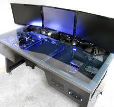 Diy Pc Desk Pc Desk Diy Mod Custom Computer Project Alternate Cooler
