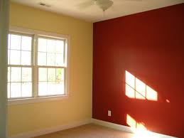 two colour wall painting bedroom wall paint color combination in
