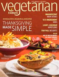 vegetarian times magazine november 2013 eat your books