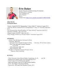 athletic resume athletic resume