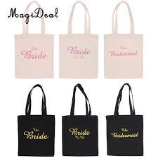 bridesmaid bag magideal wedding party bridal tote bag bridesmaid hen party gift