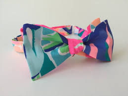 Lilly Pulitzer Home Decor Fabric by Lilly Pulitzer Exotic Garden Fabric Bow Tie